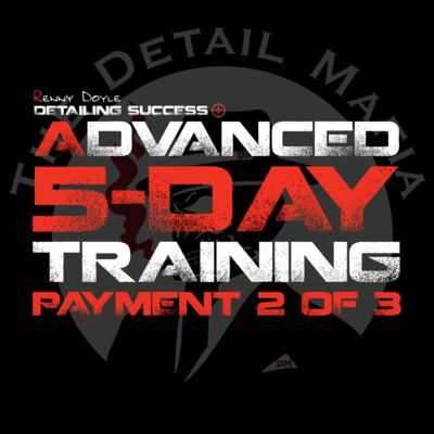 Advanced 5-Day Training 2nd Payment