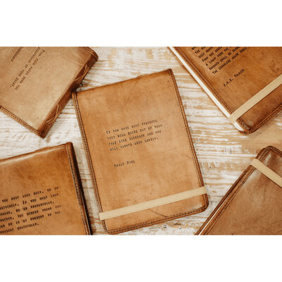 Keepsake Leather Journals