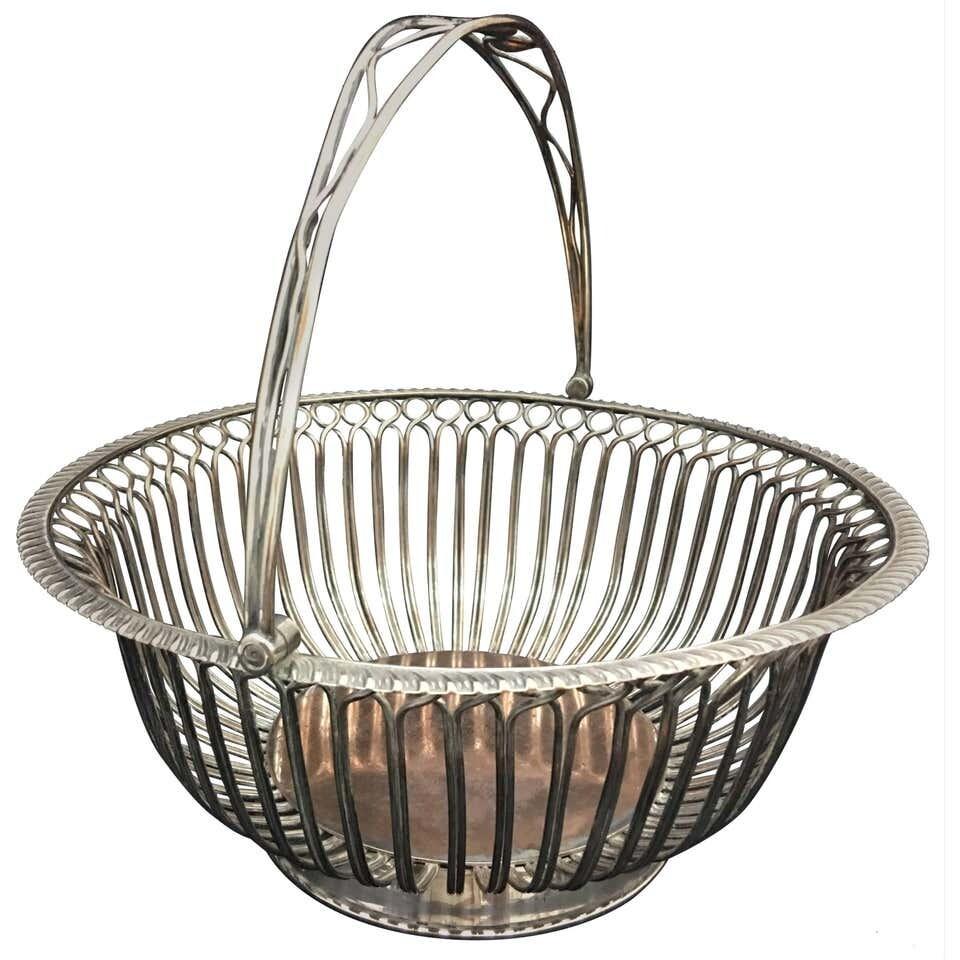 Regency Sheffield Plate Bread Basket, circa 1805