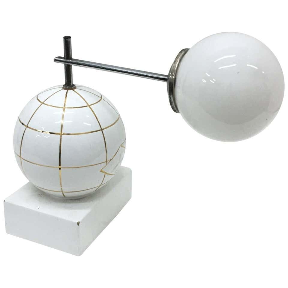 Italian Art Deco Ceramic Table Lamp, circa 1930