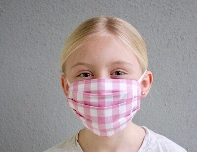 """Thrive"" children's multi-ply washable cotton Mask"