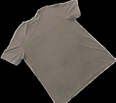 T-Shirt de Hombre 100% Algodón Pima Orgánico Gris