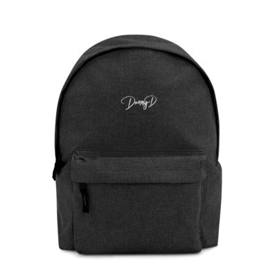 Danny D Embroidered Backpack