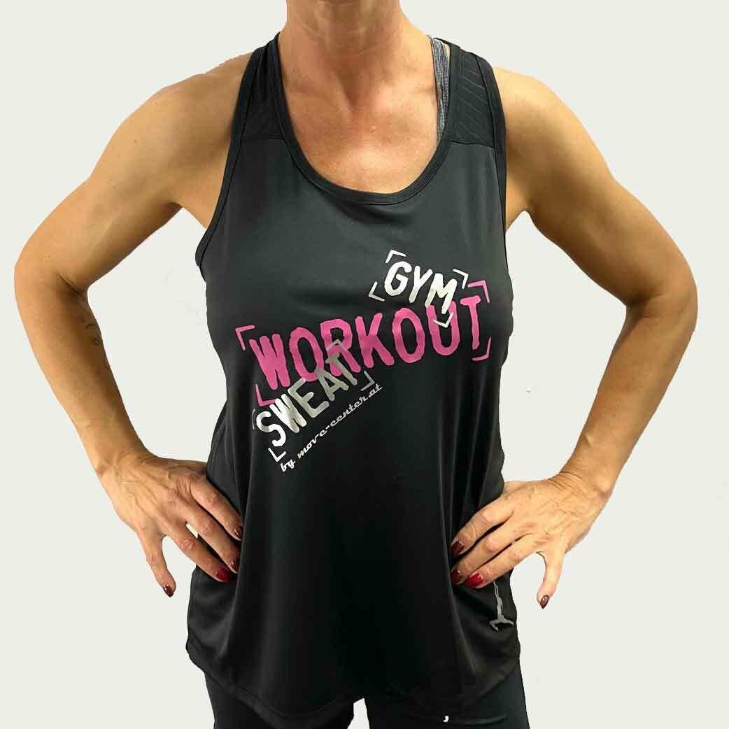 Shirt Workout Schwarz