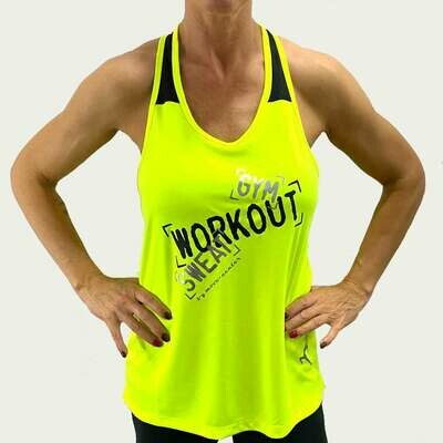 Shirt Workout Gelb