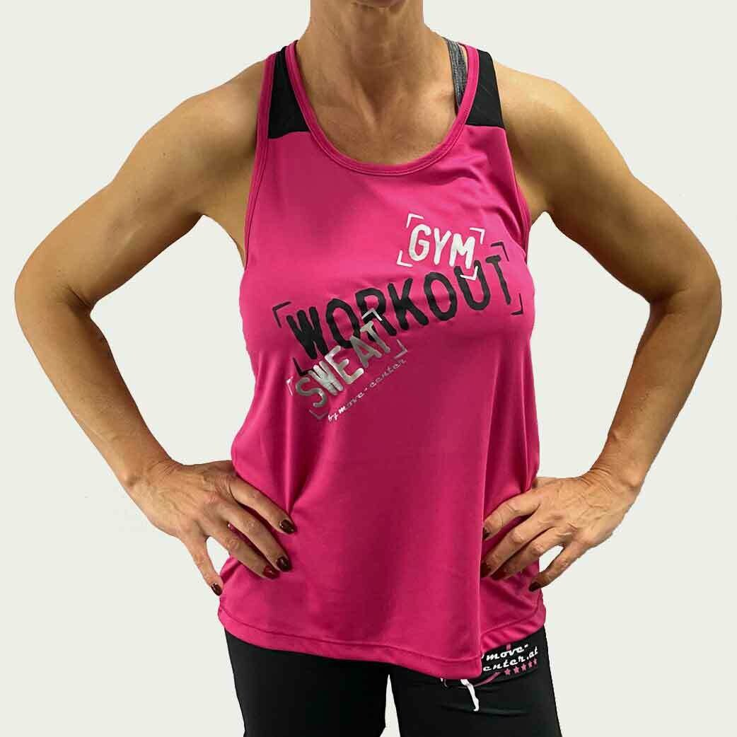 Shirt Workout Pink