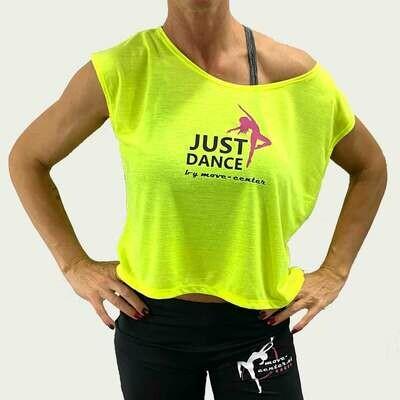 Shirt Just Dance Gelb