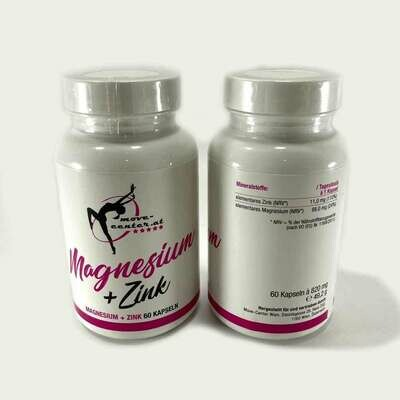Magnesium - Zink Kaps Vegan