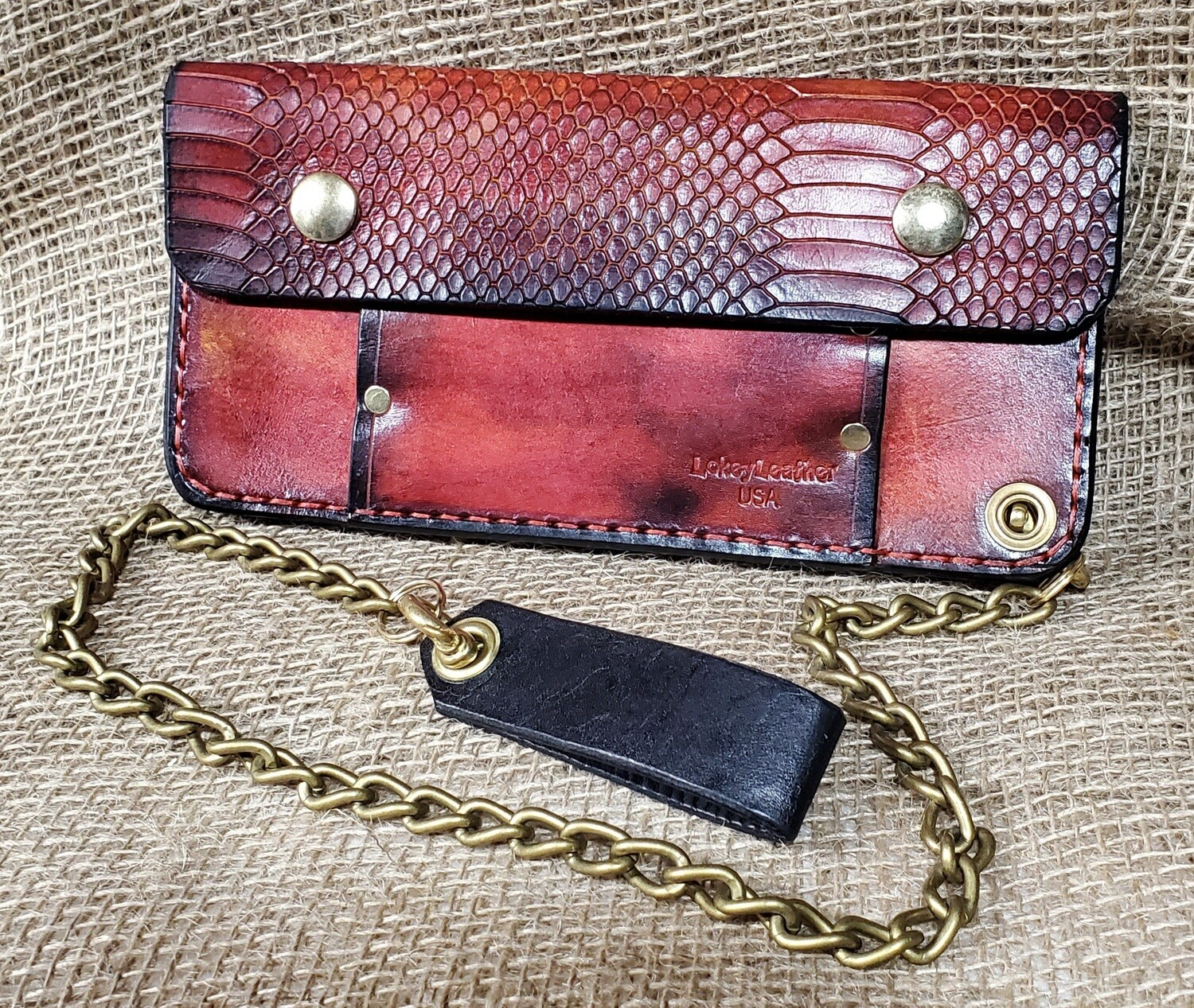 """Billy Joe"" Chain Wallet"