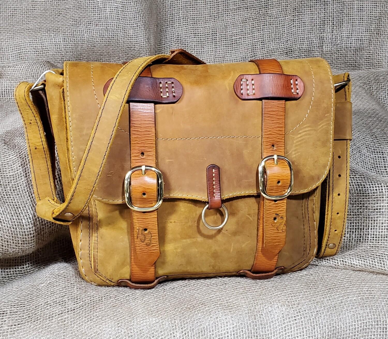 "Satchel/Briefcase ""Tangerene"""