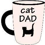 Petrageous Mug Cat Dad Neutral