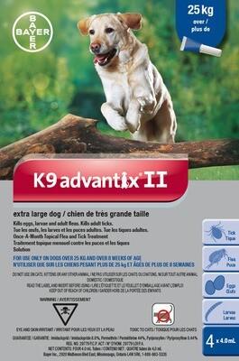K9 ADVANTIX II FOR DOGS OVER 25KG
