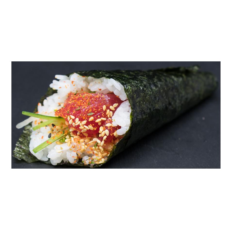 Handroll Tonijn | komkommer | shichimi | sesam