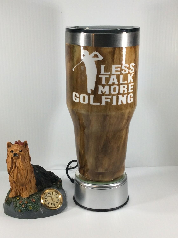 Less talking more Golfing