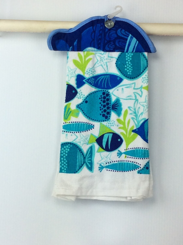 Fish Pot Holder top towel