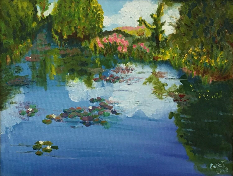 """""""Monet's Garden in May"""""""