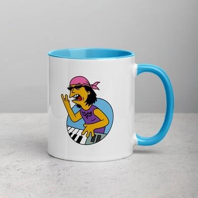 Cartoon Mug with Color Inside