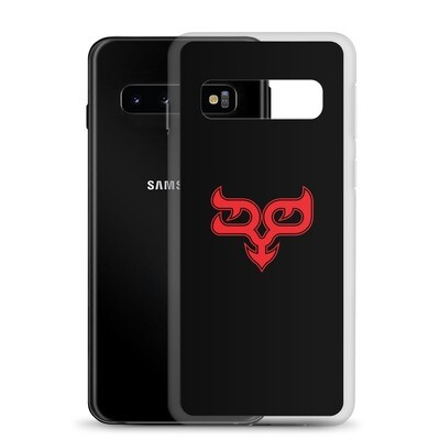 Red Ryo Logo Black Samsung Case