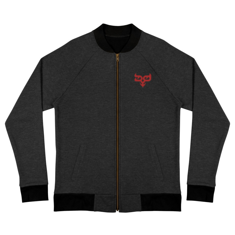 Red Ryo Logo Bomber Jacket