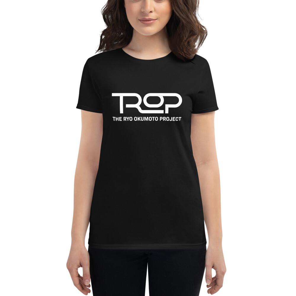 TROP Women's Cotton Fit T-shirt