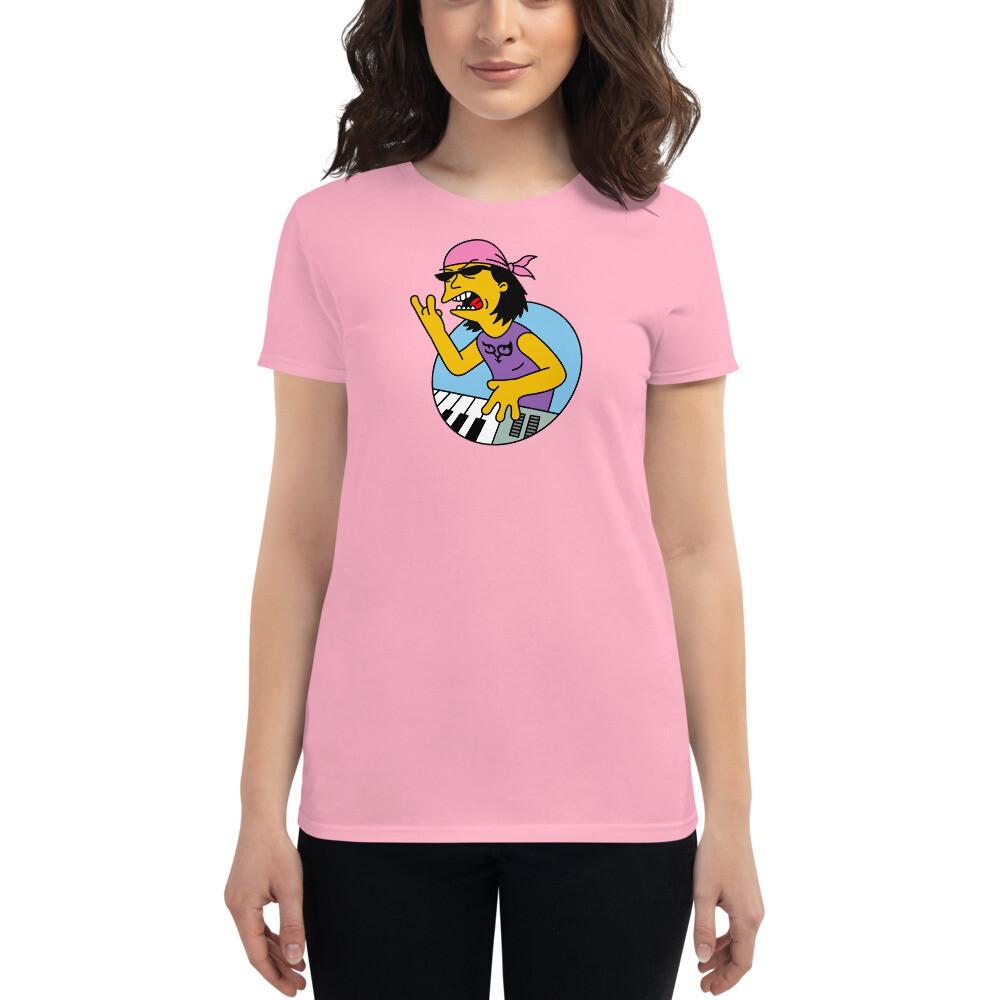 Cartoon Ryo Women's Cotton T-shirt