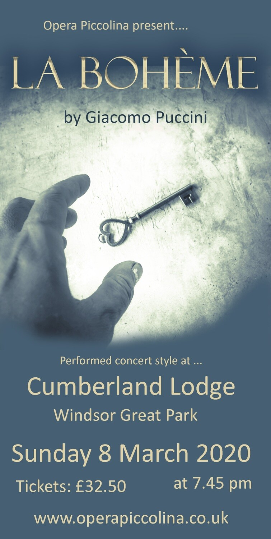 La Boheme 2019 - Friends of Cumberland Lodge
