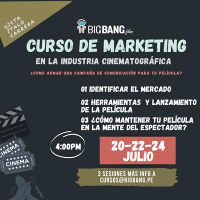 CURSO DE MARKETING EN LA INDUSTRIA CINEMATOGRÁFICA