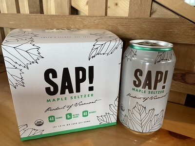 4-Pack SAP! Maple Seltzer