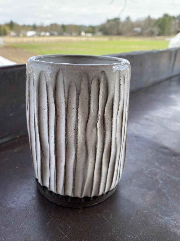 Sea Changes Ceramics   White vase/tumbler   item i138