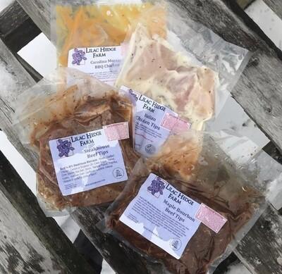 Carolina BBQ Chicken Tenders 1 LB | Lilac Hedge Farm