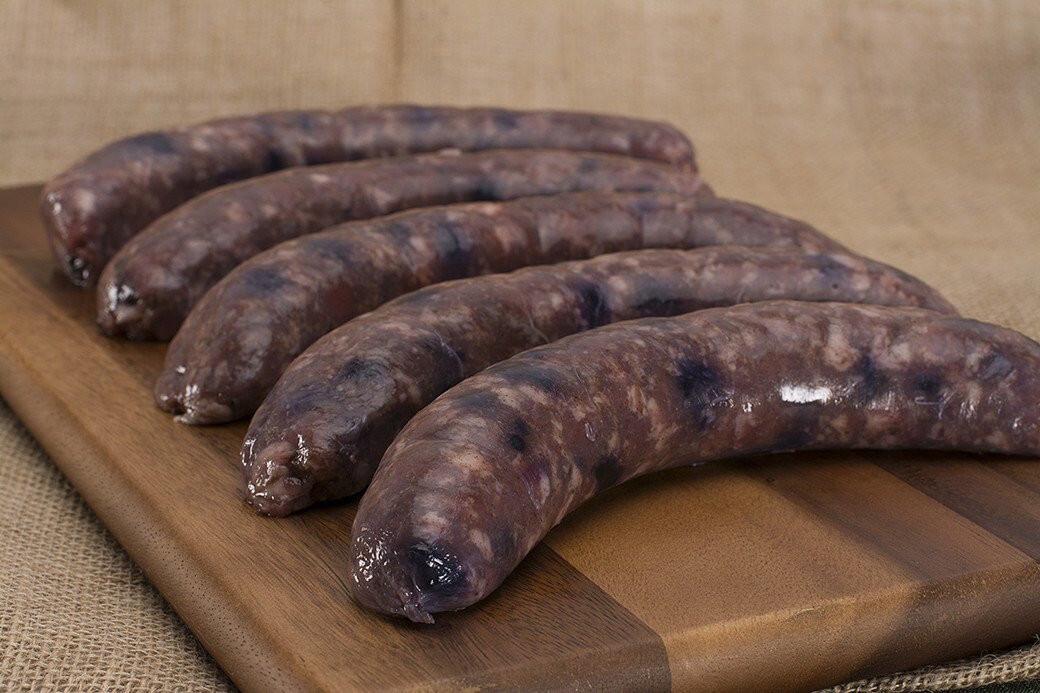 Blueberry Breakfast Sausage 1 LB   Lilac Hedge Farm
