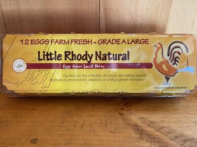 Grade A Large Eggs | One Dozen | Little Rhody Foods