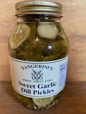 Sweet Garlic Dill Pickles | 32 oz