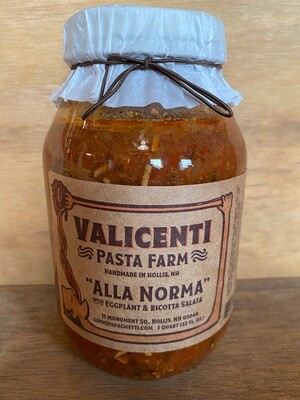 Valicenti Sauce | Alla Norma (eggplant & ricotta salata)