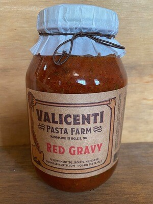 Valicenti Sauce| Red Gravy