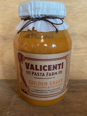 Valicenti Sauce | Golden Gravy (butternut squash &  parmesan)