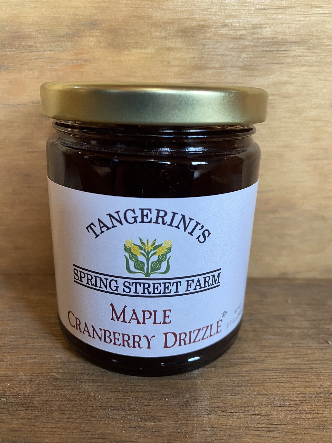 Tangerini's Maple Cranberry Drizzle