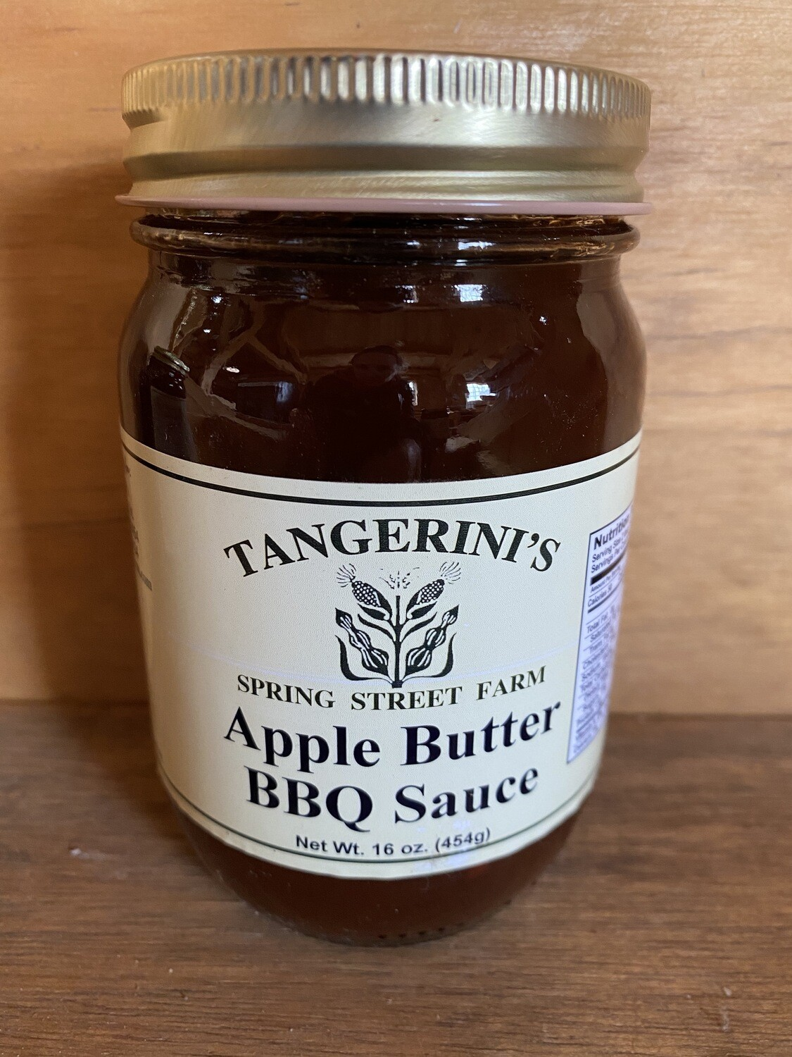 Barbeque Sauce Apple Butter