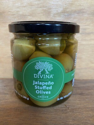 Divina Jalapeno Stuffed Olives