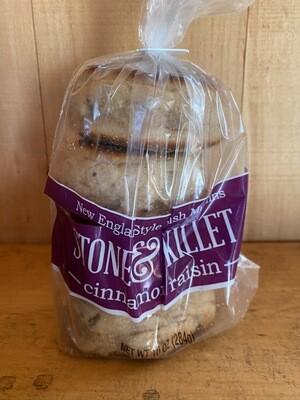 Cinnamon Raisin English Muffin | Stone & Skillet | 10oz