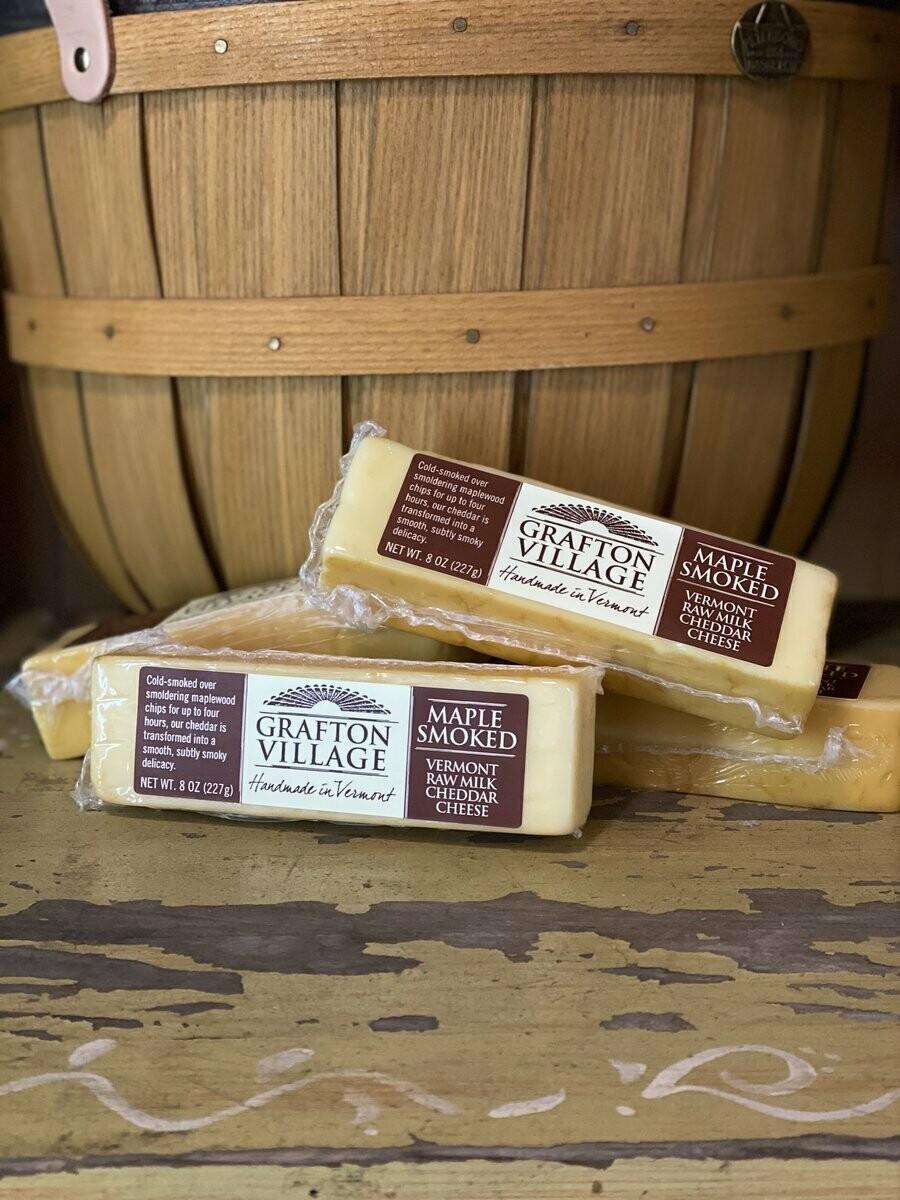 Grafton Village Maple Smoked Cheddar