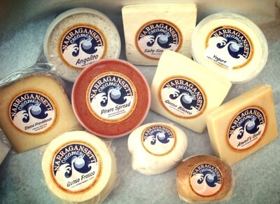 Atwell's Gold Cheese | Narragansett Creamery | 8oz
