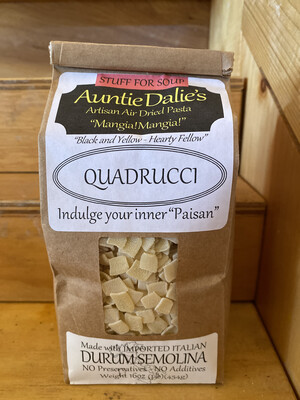 Quadrucci | Auntie Dahlie's Pasta