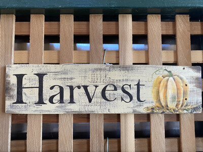 Harvest Wallhanging | Finely Finished by Sandra Staiger