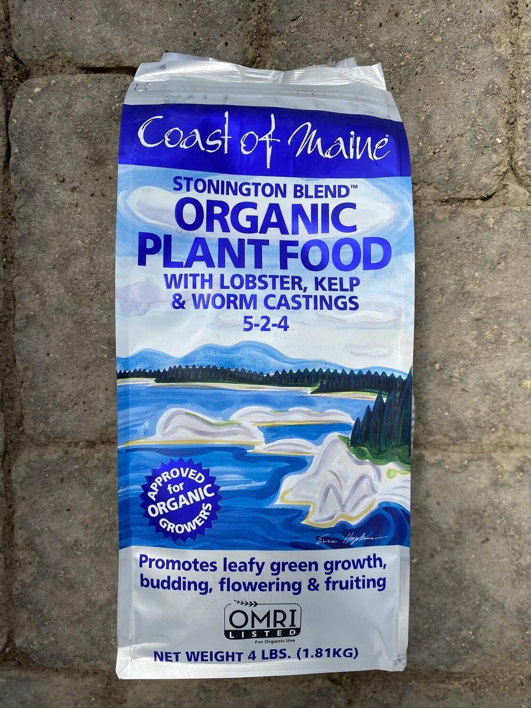Stonington Blend | Organic Plant Food | Coast of Maine | 4lb