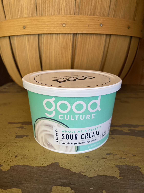 Good Culture   Whole Milk Sour Cream   16oz