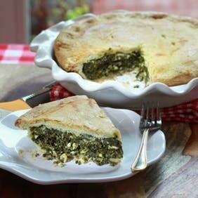 Small Spinach Feta Pie   Centerville Pie Company