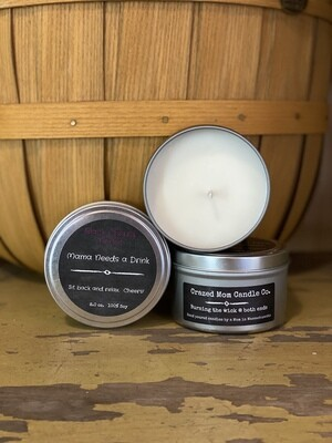 Black Cherry Merlot | Crazed Mom Candle Co.