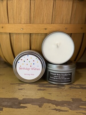 Birthday Wishes | Crazed Mom Candle Co.