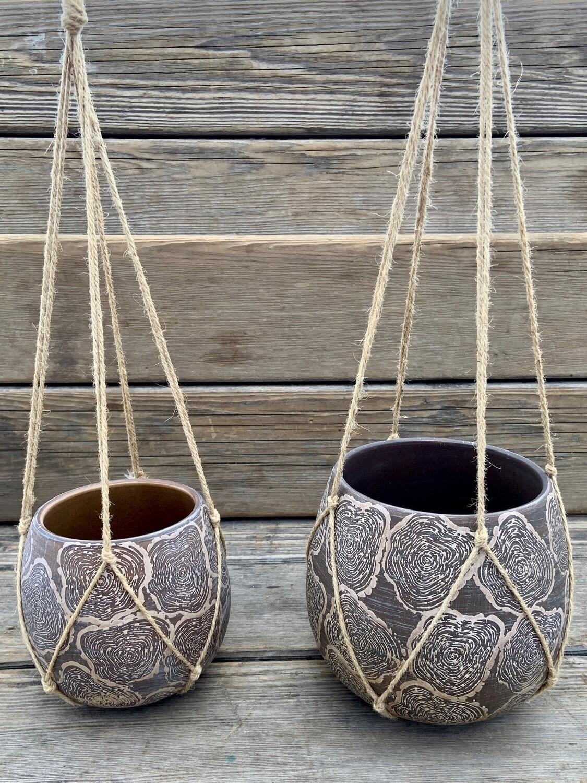 Greenhouse Pots   Medium Hanging Pot   6